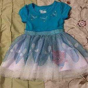 Girls Trolls Dress